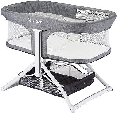2in1 Bassinet Quick Foldable Travel Crib Portable Rocking Bassinet (Star)