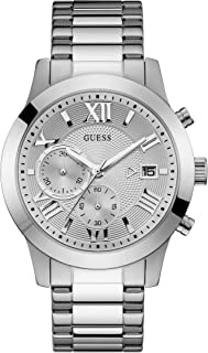 GUESS - W0668G7 - WATCH FOR MENS SILVER WITH PLAIN STAINLESS STEEL - CHRONOGRAPH