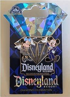 Disneyland 60th Anniversary Diamond Celebration Stained Glass Sleeping Beauty Castle Trading Pin