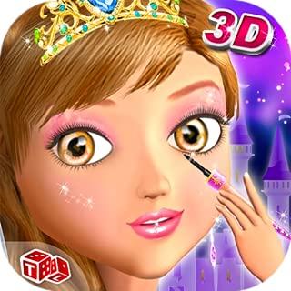 Princess 3D Salon - Free Girls Game in Realistic 3D Makeup Salon Environment