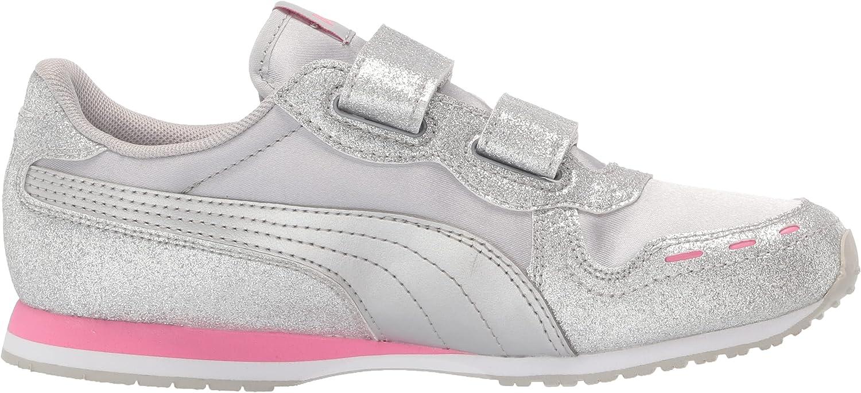 | PUMA Unisex-Kid's X-Ray Velcro Sneaker, Whitebright Rose-Peony-Purple Heather, 2 M US Little Kid | Sneakers