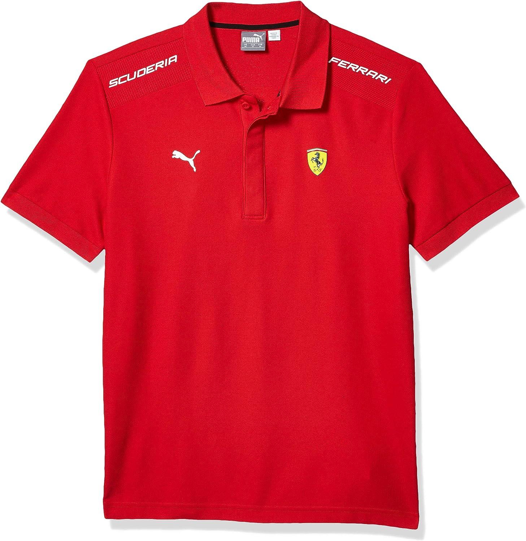 PUMA Men's Scuderia Sf Limited time cheap sale Polo Ferrari Bombing free shipping