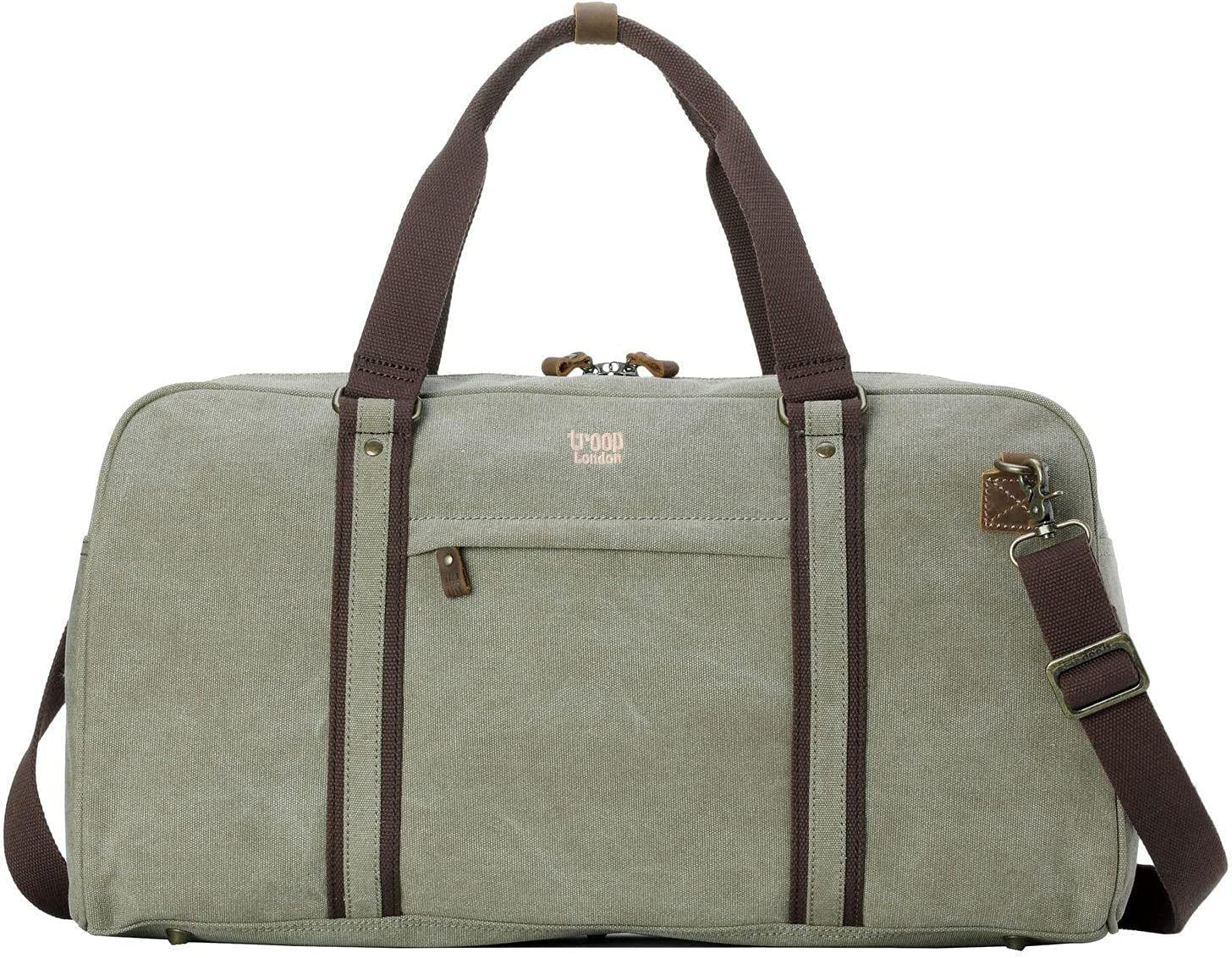 TRP0389 Troop London Deluxe Classic Canvas High quality new Travel Hol Bag Duffel Large