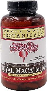 Whole World Botanicals, Maca for Men, 180 Capsules