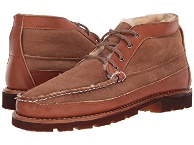 Sperry Gold Cup Handcrafted in Maine Chukka w/ Shearling (Chestnut) Men