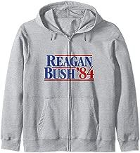 Reagan Bush '84 Zip Hoodie