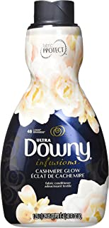 Downy Ultra Infusions Liquid Fabric Softener, Cashmere Glow, 41 Ounce