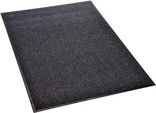 acerto 40514 Estera de protección de suelo MatBox para la parrilla 80x120 cm * ignífuga * impermeable * antideslizante | Alfombra de parrilla / base ignífuga para el jardín | Estera de goma de secado