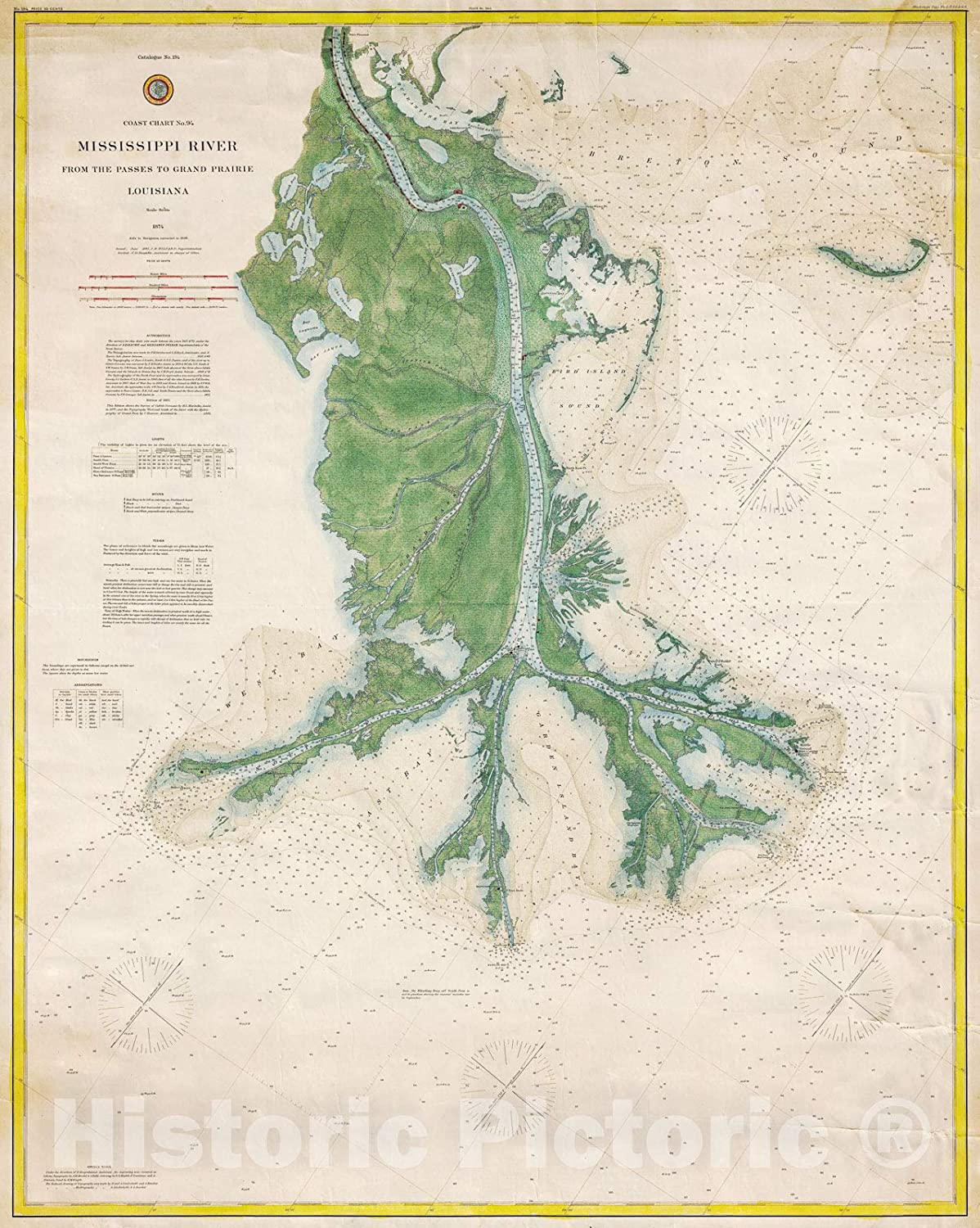 Mississippi Valley map Mississippi Valley And Its Fortifications Old map fine print