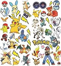 Pokémon aller avec Pikachu Stickers muraux, autocollant mural, vinyle pour enfants