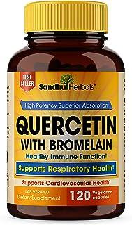 Quercetin with Bromelain 120 Ct