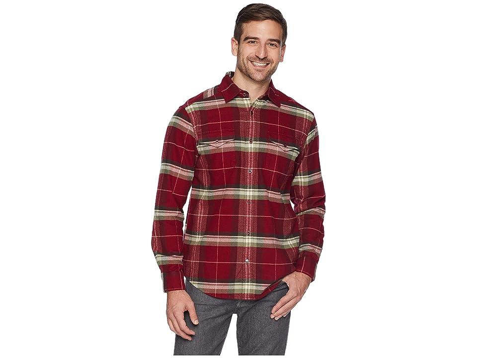 Mountain Khakis Teton Flannel Shirt (Raisin) Men
