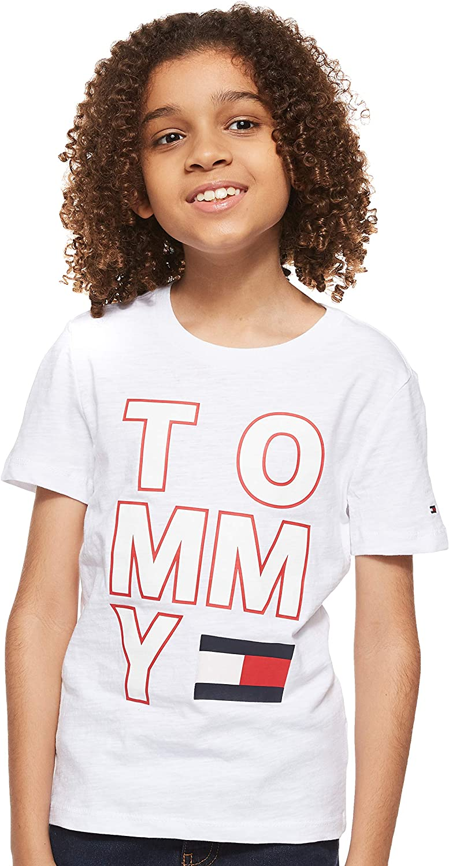 Tommy Hilfiger Camiseta Maxilogo Blanco Niño