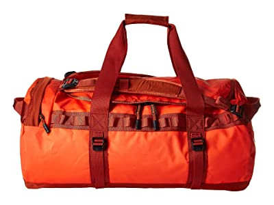 The North Face Base Camp Duffel Medium (Acrylic Orange/Picante Red) Duffel Bags