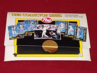 1995 post collector series baseball cards