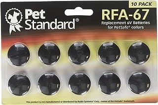 PetStandard Replacement Batteries for PetSafe RFA-67 (Pack of 10)