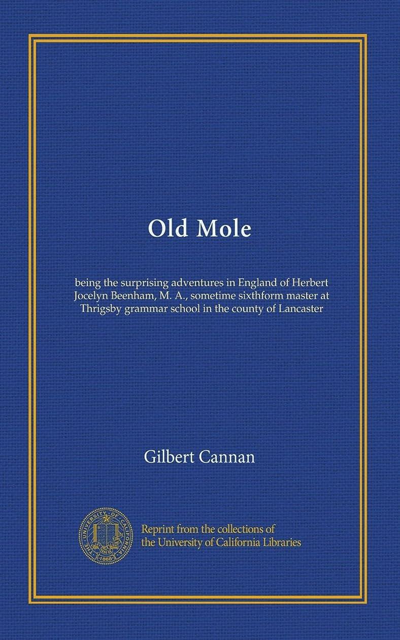 屋内等首謀者Old Mole: being the surprising adventures in England of Herbert Jocelyn Beenham, M. A., sometime sixthform master at Thrigsby grammar school in the county of Lancaster