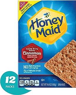 Honey Maid Cinnamon Graham Crackers, 14.4 Oz Box (Pack Of 12)