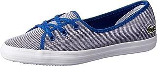 Lacoste Ziane Chunky 118 1 Women's Fashion Shoes, DK BLU/WHT
