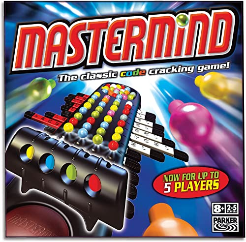 Mastermind Classic - Crack the code - 2 to 5 Players - Family Strategy Board Games and toys for kids, boys, girls - A...