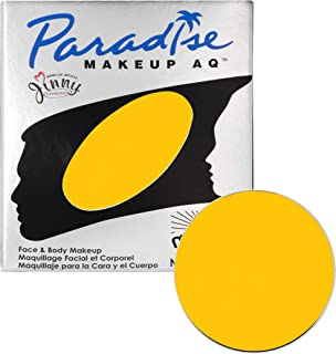 Mehron Makeup Paradise AQ Refill (.25 Ounce) (Yellow)