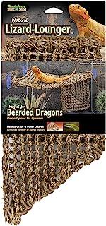 Penn Plax REP701 Lizard Lounger, 100% Natural Seagrass Fibers For Anoles, Bearded..