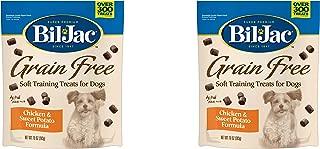 Bil Jac Grain Free Soft Training Treats for Dogs - Chicken and Sweet Potato Formula - 10 oz Packs