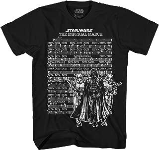Men's Darth Vader March Sheet Short Sleeve T-Shirt