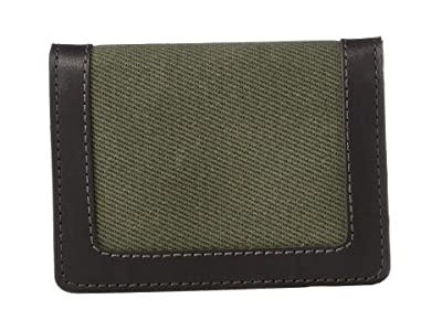 Filson Outfitter Card Wallet (Otter Green) Wallet Handbags