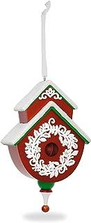 Hallmark Keepsake 2017 Red and Green Beautiful Birdhouse Christmas Ornament