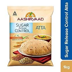 Aashirvaad Sugar Release Control Atta, 1kg