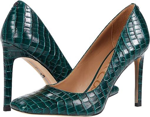 Green Ivy Lucea Dress Croco Leather