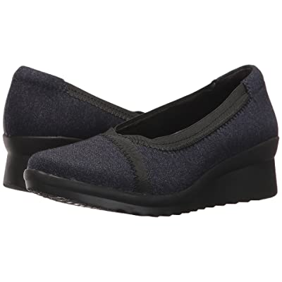 Clarks Caddell Dash (Navy) Women