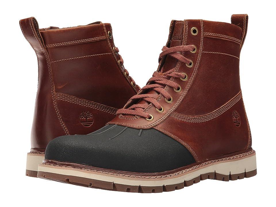 Timberland Britton Hill Rubber Toe Boot (Medium Brown Full Grain) Men