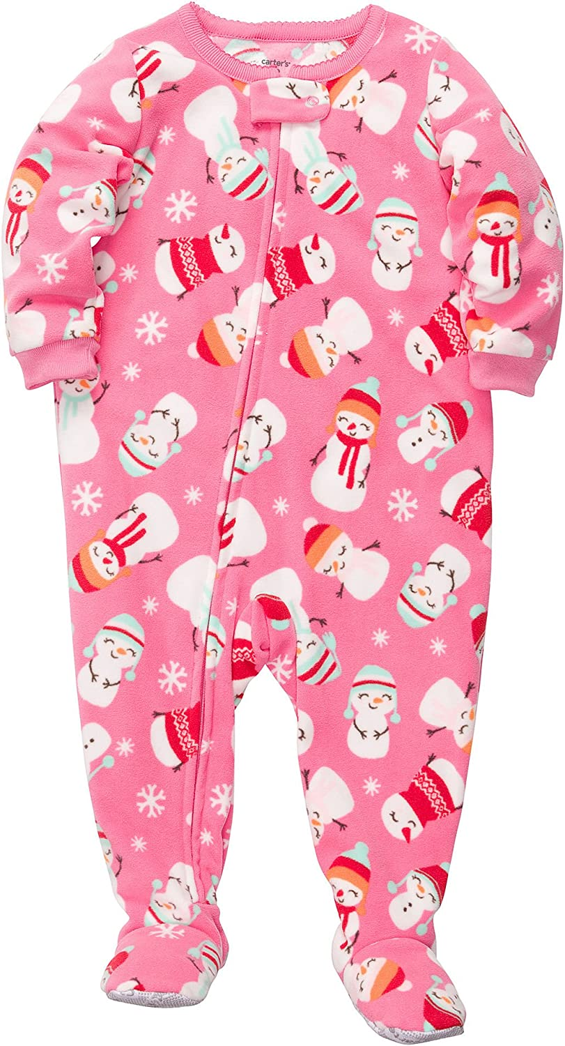 Carter's Baby Girls' L/s Footed Blanket Sleeper