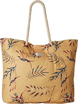 Roxy Tropical Vibe Printed Beach Bag