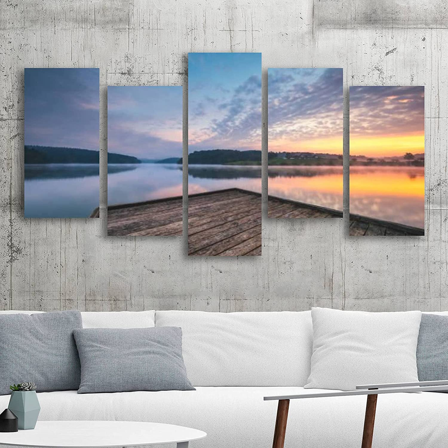 Canvas Wall Max 76% OFF Art Painting Morning Gi Tranquility Direct store Prints on
