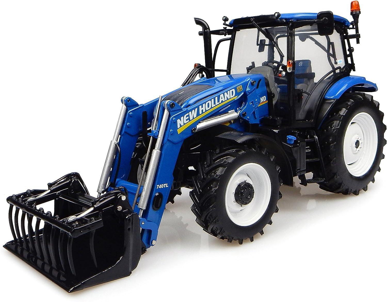 punto de venta Universal Hobbies uh4956 uh4956 uh4956 Tractor New Holland t6.145con Horquilla (740tl  venta mundialmente famosa en línea