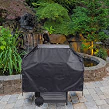 Other 55 Tear Proof All-Weather Grill Cover Black 55 x 21 x 31