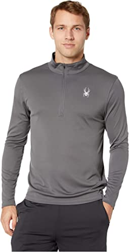 Limitless Solid Zip T-Neck