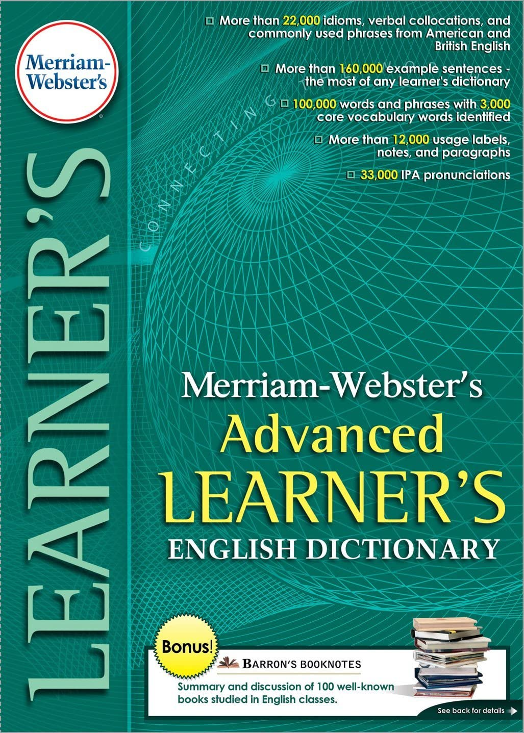 Merriam Webster's Advanced Max 43% OFF Learner's Classro Dictionary- Max 40% OFF English