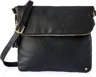 Stitch & Hide Women's Alexa satchel bag Cross-Body Handbags, Black, One Size