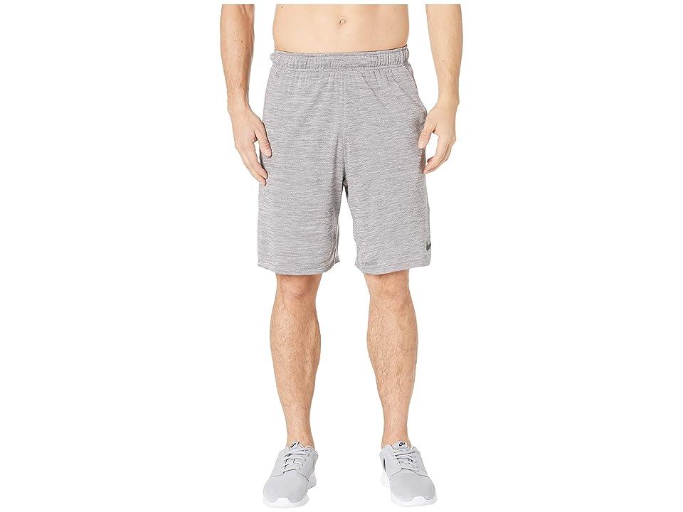 Nike Dri-FIT Heathered 9 Training Short (Atmosphere Grey/Black) Men