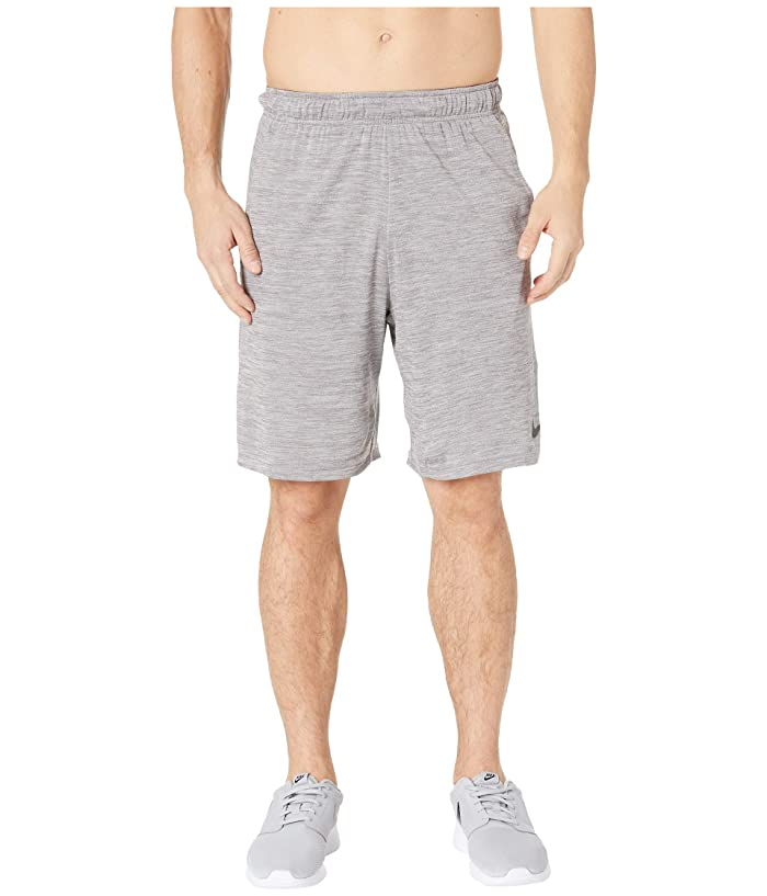 Nike Dri-FIT Heathered 9 Training Short (Atmosphere Grey/Black) Men