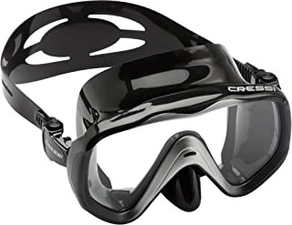 Adult Single Lens Mask for Maximum Vision While Scuba Diving and Snorkeling | LIBERTY by Cressi: quality since 1946