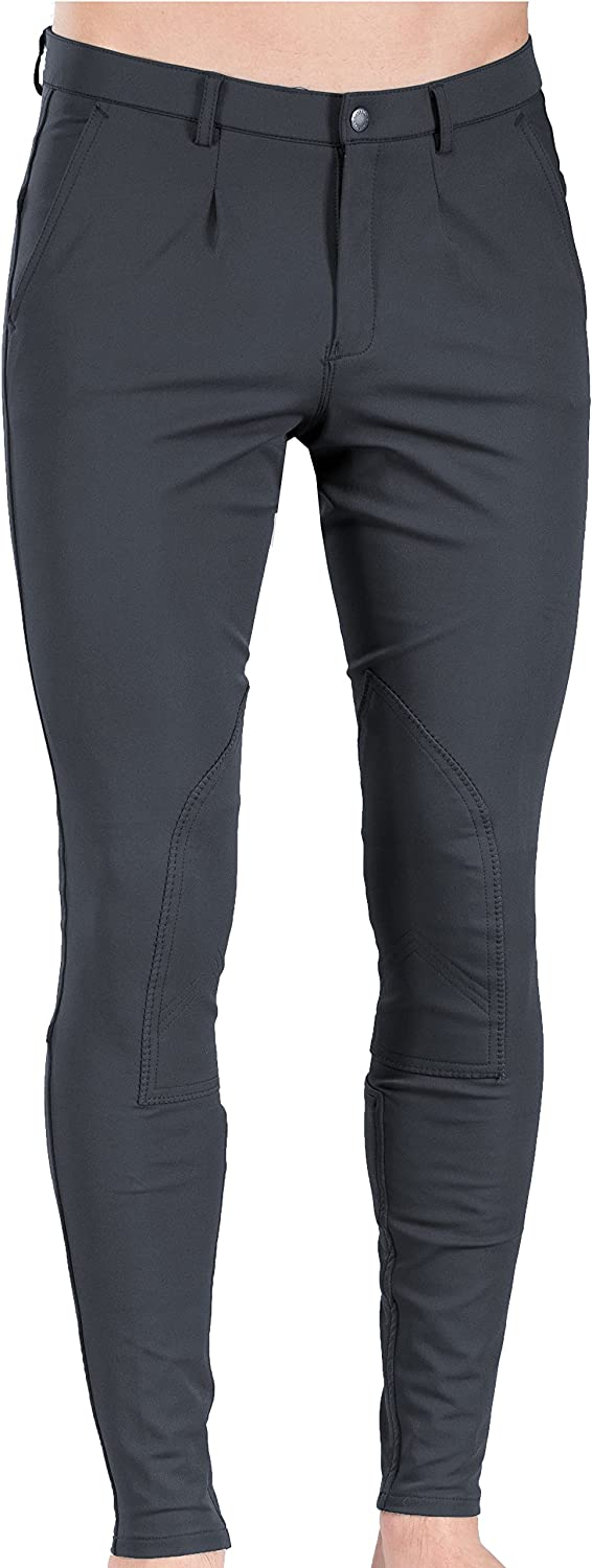 B greenigo Sander Men's Self Patch Breeches