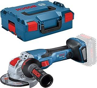Bosch Professional BITURBO GWX 18V-15 C - Amoladora angular a batería (18V, disco Ø 125mm, X-LOCK, conectable, sin batería, en L-BOXX)