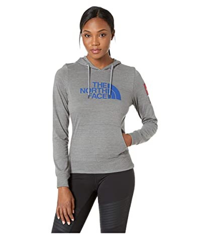The North Face Americana Tri-Blend Pullover Hoodie (TNF Medium Grey Heather) Women