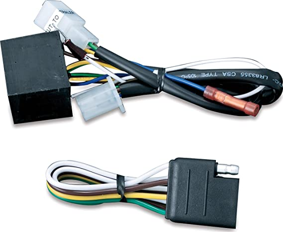 Kuryakyn 7675 Motorcycle Accessory: 5 to 4 Wire Converter with 4-Pin Flat  Connector for Plug & Play Trailer Wiring Harness, Universal Fit: Automotive  - Amazon.com   2015 Flhtcu 4 Pin Wiring Harness      Amazon.com