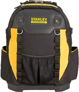 Stanley Gereedschapsrugzak (36 x 46 x 27 cm, met vakken voor gereedschap, accessoires, laptop, netvak, robuust Denier nylo...
